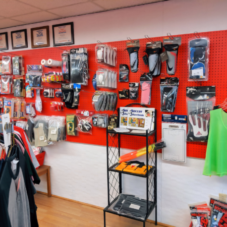 Sports Equipment at Royal Sport Shop
